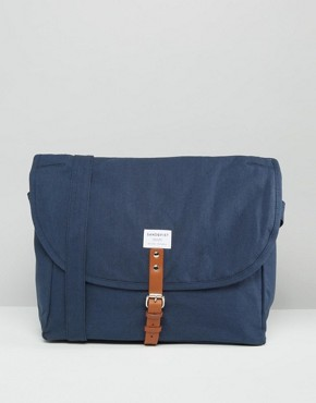 Sandqvist Jack Messenger Bag In Blue