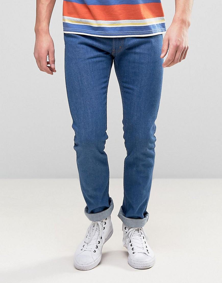 Levis 505C Slim Fit Orange Tab Jeans True Blues Wash - True blues