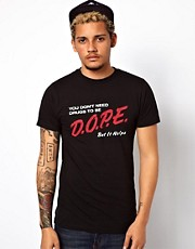 Reason  T-Shirt mit Dope-Aufdruck