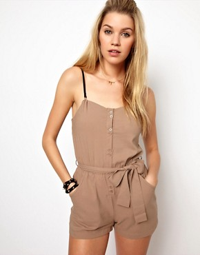 Image 1 ofGlamorous Bandeau Playsuit