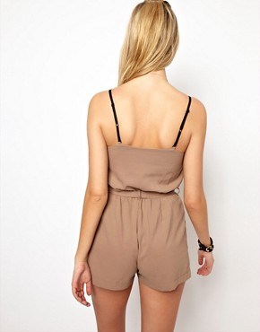 Image 2 ofGlamorous Bandeau Playsuit