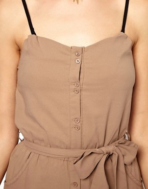 Image 3 ofGlamorous Bandeau Playsuit