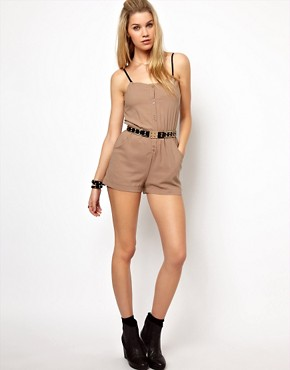Image 4 ofGlamorous Bandeau Playsuit