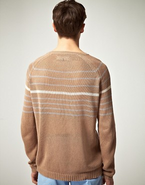 Image 2 ofPlectrum by Ben Sherman Relaxed Crew Neck Knit