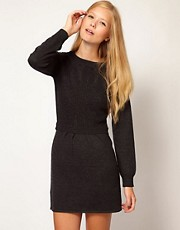 Vanessa Bruno Ath Knitted Dress with Cable Detail