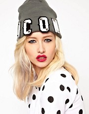 Funky Bling Icon Beanie Hat