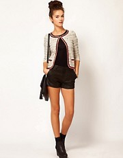River Island Quilted Short