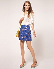 Emily &amp; Fin Floral Print Skirt