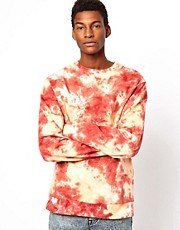 Altamont Crew Sweatshirt Tie Dye