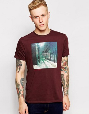 Ben Sherman T-Shirt with London Photo Print