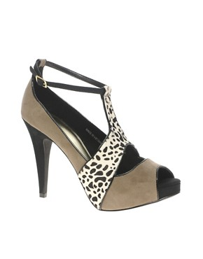 Image 1 ofASOS POGO Peep Toe Platform High Shoe
