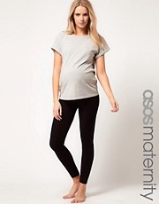 ASOS Maternity Exclusive Seamfree Legging With Support For The Perfect Bump