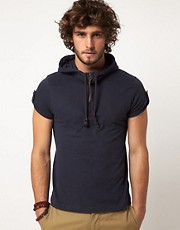 Ringspun T-Shirt Moss Hooded