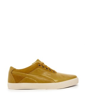 Image 4 ofAlexander McQueen for Puma Deck Lo Leather Trainers