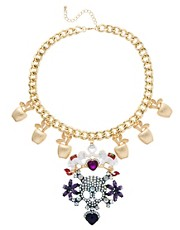 ASOS Celebration Skull Statement Necklace