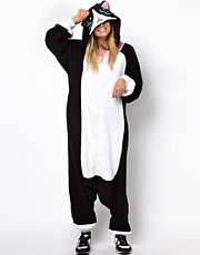 Kigu Black Cat Onesie