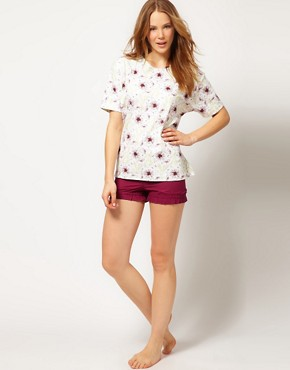 Image 1 ofAlas Exclusive To ASOS Grevillea Bloomers In Organic Cotton Voille With Gift Box