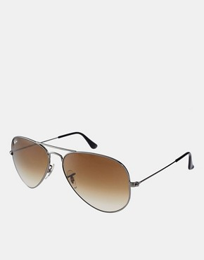 Image 1 ofRay-Ban Large Aviator Sunglasses