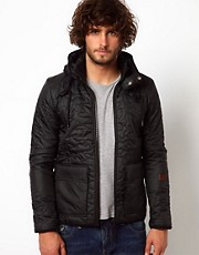 G Star Jacket Aero Quited Hooded