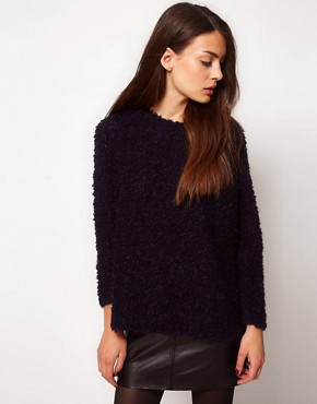 Image 1 of Whistles Elsie Boucle Jumper