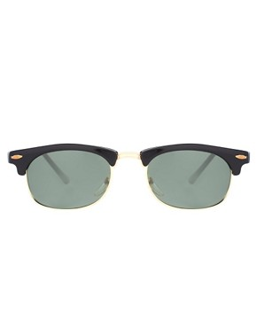 Image 2 ofReclaimed Vintage Clubmaster Sunglasses