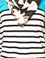 Image 3 ofMaison Scotch Breton Tee with Ikat Scarf