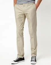 J Lindeberg Trousers Cotton Twill