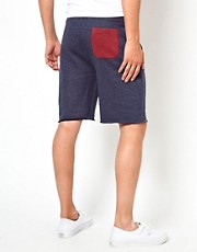 ASOS Jersey Shorts With Contrast Pocket