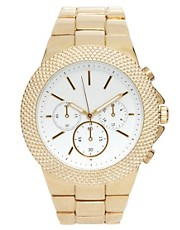 ASOS Interchangeable Bezel Boyfriend Watch