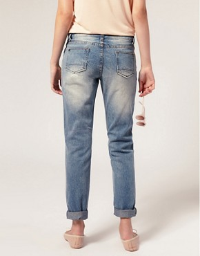 Image 2 ofASOS Ripped Vintage Boyfriend Jeans