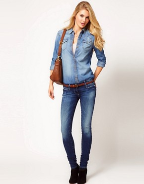 Image 4 ofMiss Sixty Sloane Skinny Fit Jeans