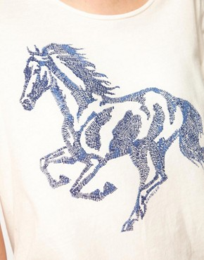 Image 3 ofWrangler Horse T-Shirt