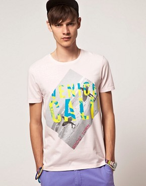 Image 1 ofASOS T-Shirt With Surf Print