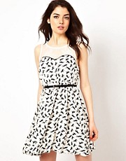 Little Mistress Printed Dress