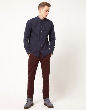Image 4 ofFred Perry Oxford Shirt Royal Work
