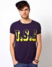 ASOS T-Shirt With USA Print