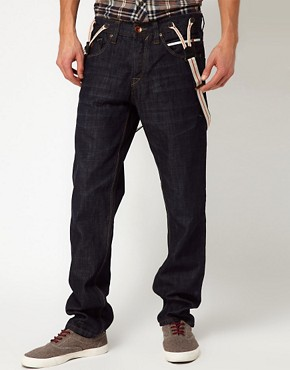 Imagen 2 deSolid Loose Jeans with Detachable Braces