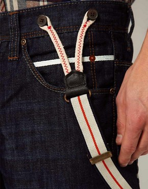 Imagen 4 deSolid Loose Jeans with Detachable Braces