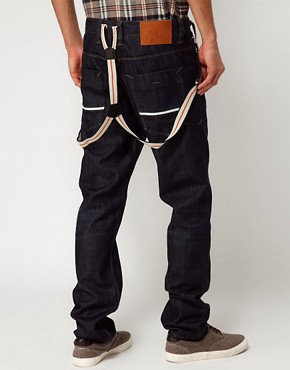 Imagen 1 deSolid Loose Jeans with Detachable Braces