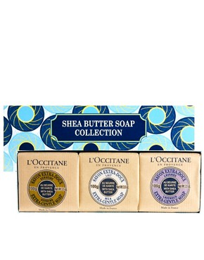 Image 1 ofL&#39;Occitane Shea Butter Soap Collection