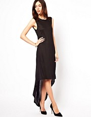 Vila Dip Back Maxi Dress