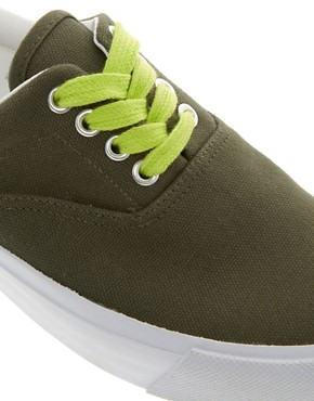 Image 3 ofASOS DENVER Plimsolls
