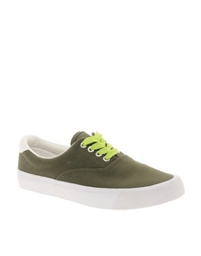 Image 1 ofASOS DENVER Plimsolls