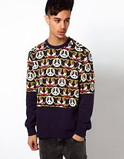 Kidda Christopher Shannon Sweat with Crest Print