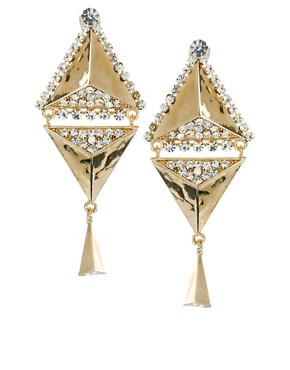 Image 1 ofLove Rocks Deco Drop Earrings