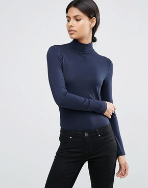 ASOS The Polo Neck With Long Sleeves