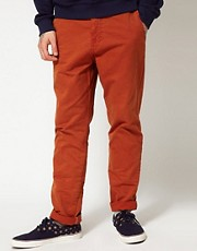 Chinos de corte slim Beck de Anerkjendt