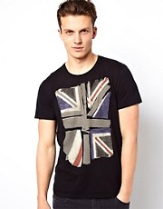 Camiseta con bandera britnica de Ben Sherman