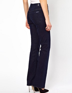 Image 2 of7 For All Mankind Highwisted Bootcut Las Vegas Jeans