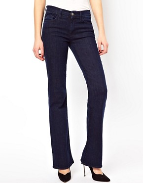 Image 4 of7 For All Mankind Highwisted Bootcut Las Vegas Jeans